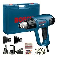 Bosch Heißluftpistolen, +GHG 660 LCD Heißluftgebläse, Energieklasse A, Temperatur an der Düse 50-660 °C, in 10°C Schritten<br /> Luftmenge 250-500 l/min, in mehreren Schriten; viel Zubehör.