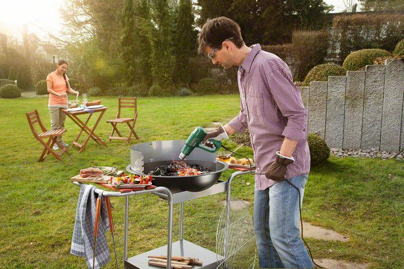 Bosch PHG 500 2 Heissluftgeblaese Easy 1 600 W 300 500 C 240 450 L Min Grill
