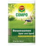 Compo 13809 Rasensamen Spiel und Sport 10 kg für 500 m²