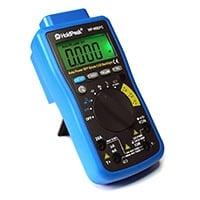 Digital Multimeter HP-90EPC, USB-Anschluss, Software, Batterietester Kapazität Frequenz, Temperatur, Diodentest.