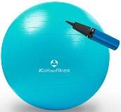 Robuster Sitz- und Fitnessball für Sport, Physiotherapie, Gymnastikübungen oder als Sitzball zur Stabilisierung der Wirbelsäule.