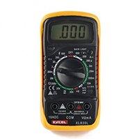 Excel XL830L, LCD Digital Multimeter; Geeignete Meßarten: Strom, Spannung, Widerstand, akustischer Durchgangsprüfung, Kapazitätsmessung.