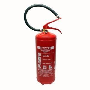 Feuerlöscher Pulverfeuerlöscher Löscher 6kg mit Manometer Protex