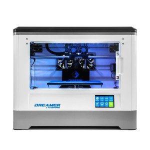 Flashforge:registered: Dreamer 3D Drucker Doppel-Extruder Drucker mit Clear TÃ1/4r und RÃ1/4ck Fans