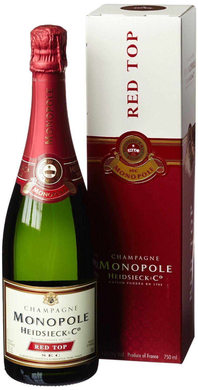 Heidsiek Monopole Red Top Sec Champagner
