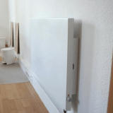 Infrarotheizung 1000 Watt Heizung Dreh/Thermostatregler Elektroheizung