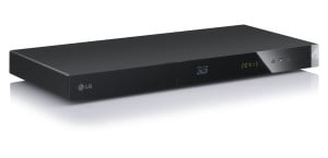 LG BP420 3D-Blu-ray-Player (Smart-TV, DLNA, HDMI, Upscaler 1080p, LAN, USB) schwarz