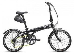 MINI Folding Bike Black 1