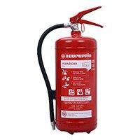 PG 6 Euro 6 kg Dauerdrucklöscher Brandklasse: ABC Inhalt: 6 kg Arbeitstemperatur: -30° C bis +60° C Raitings: 34 A / 183 B / C Zulassung: EN 3 Löscheinheit: 10 LE.
