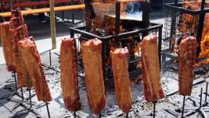 Räuchern Fleisch