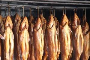 Räuchern Fisch