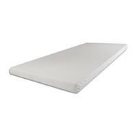 SW Bedding Viscoelastische Matratzenauflage 200 x 200 x 7cm H2 mit Bezug SANcare