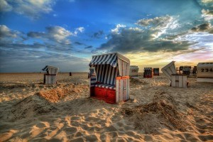 StrandkorbStrandSonnenuntergang (1)