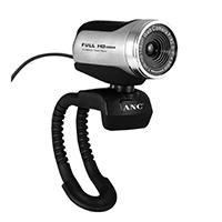 High Definition-Webcam für atemberaubende HD-Videogespräche in 1080p, echter 2-Megapixel-Sensor für farbenfrohe Bilder mit bis zu 8.3 Megapixel, automatische Helligkeitsanpassung bei gedämpfter Beleuchtung und Universalhalterung.