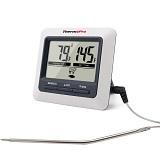 Der ThermoPro TP04 Digital Bratenthermometer Ofenthermometer mit integriertem Count Down Timer ist auf dem 10. Platz.