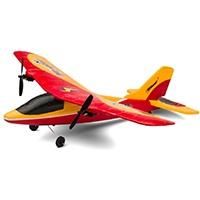 Top Race TR-P28 2-Kanal 2.4GHz RC Flugzeug für draußen, bereit zum Fliegen, belastbares EPP unzerbrechlich, Schaumstoffmaterial, Anti-Absturz, Hochflugleistung für draußen, wieder aufladbare Batterien mitinbegriffen, Der Transmitter benötigt 4 AA Batterien.