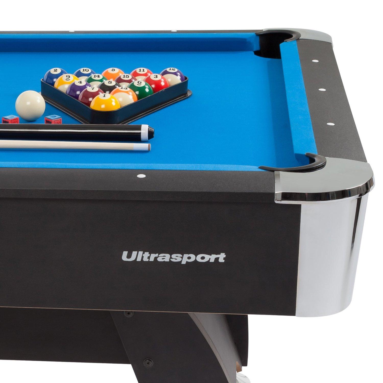 Ultrasport 8ft. Pool Billardtisch1