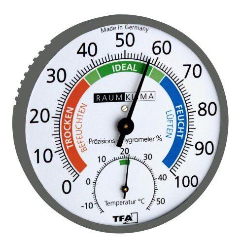 Wetterladen Präzisions Hygrometer Klimatest