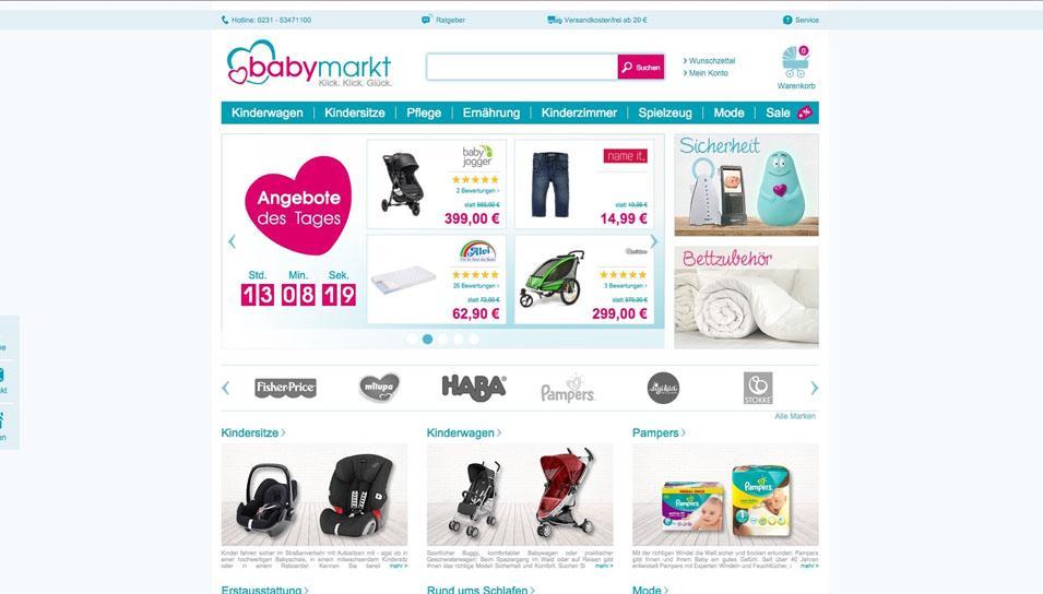 Verkaufsportal Babymarkt.de