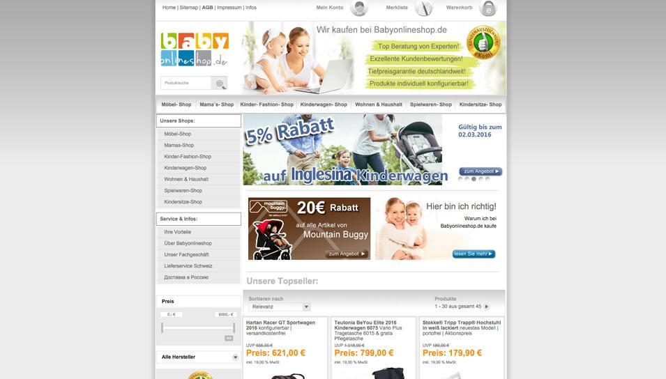 99d6943a78064b Babybedarf Shops • Die 10 besten Babyshops im Vergleich – ExpertenTesten