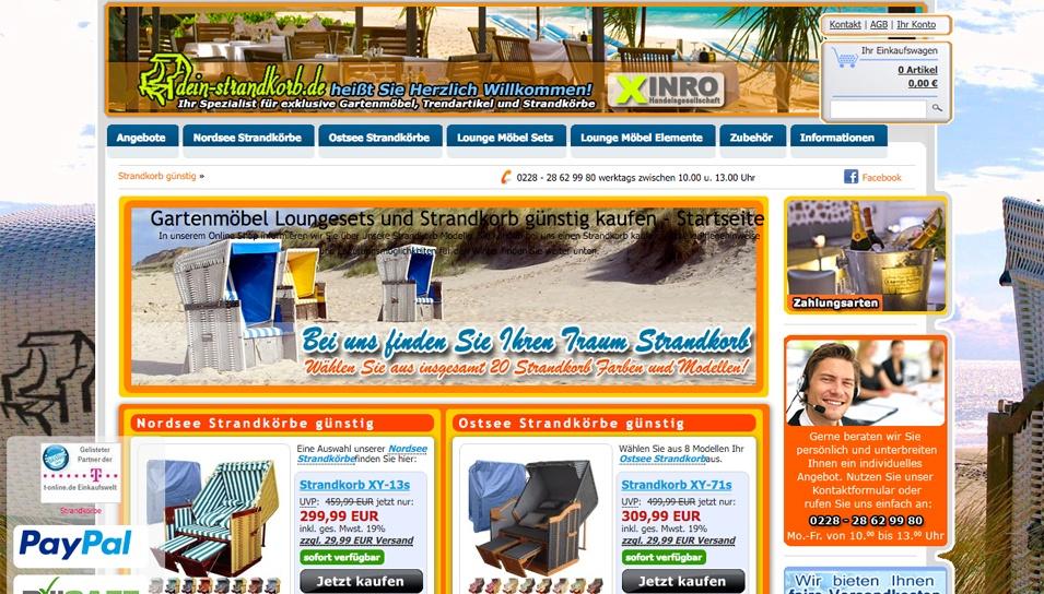 Dein Strandkorb