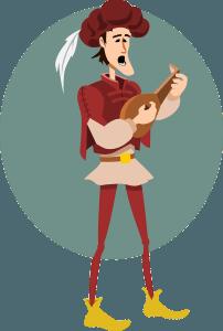 Musiker im Mittelalter