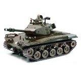 HSP US M41A3 Walker Bulldog ferngesteuerter Panzer mit Schuss- Rauch- und Sound-Funktion
