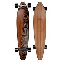 Das Jucker Hawaii Longboard Makaha ist mit seinem Bambus Deck eines der schönsten Longboards auf dem Markt.