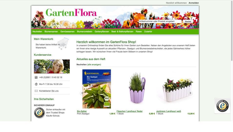 gartenflora shop