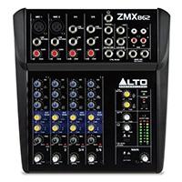 Der Zephyr ZMX862 ist ein 6-Kanal, 2-Bus-Mixer mit genügend Eingängen, Ausgängen, Routing und EQ, um Ihre Live-Performance noch intensiver werden zu lassen.
