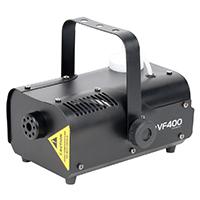 Der VF400 von ADJ ist eine sehr kompakte Nebelmaschine mit 400 Watt, die sich hervorragend für mobile Entertainer und kleine Nachtclubs und Bars eignet, die eine stimmungsvolle Nebelatmosphäre schaffen möchten.