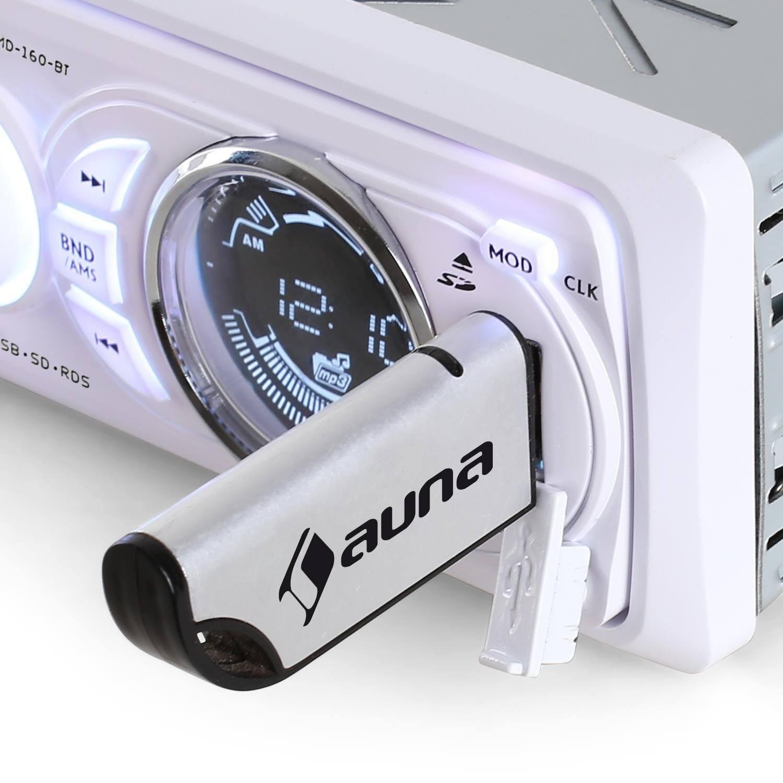 Autoradio-Auna-USB-farbig