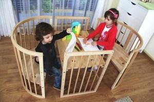 Babybett-ComfortBaby-Kinderbank-Kindertisch