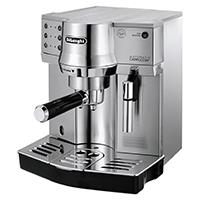 Das patentierte Milchaufschäumsystem bereitet auf Knopfdruck köstlichen Cappuccino und Latte Macchiato zu.