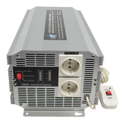 weikin Spannungswandler 2000W Wechselrichter DC 12V zu AC 220V Steckdose nach europ/äischem Standard sowohl im Auto als auch zu Hause