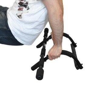 Klarfit Klimmzugstange Sit-Up-Stange (Stahlgestell, 5 Griffgruppen, bis 115 Kg) 10004638