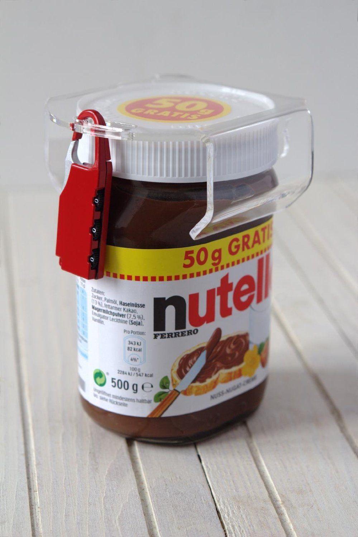 Nutellaschloss-Schockotresor
