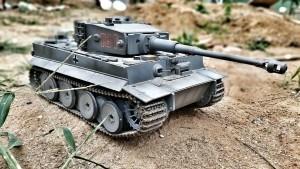 Panzer-Modell