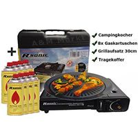 RSonic - Gaskocher Camping