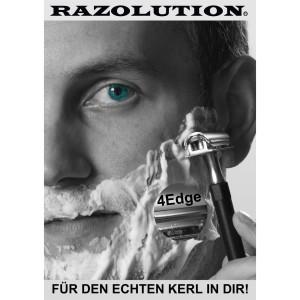 Otto Herder manicure - Rasierhobel vernickelt