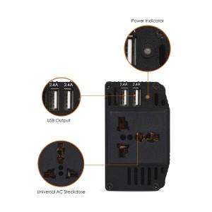 SNAN - 300W Wechselrichter Auto Power Inverter