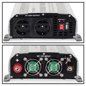 TecTake - Sinus Wechselrichter Inverter 12 V