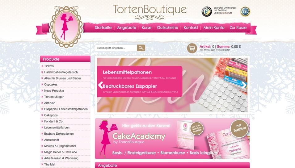 Startseite Torten Boutique