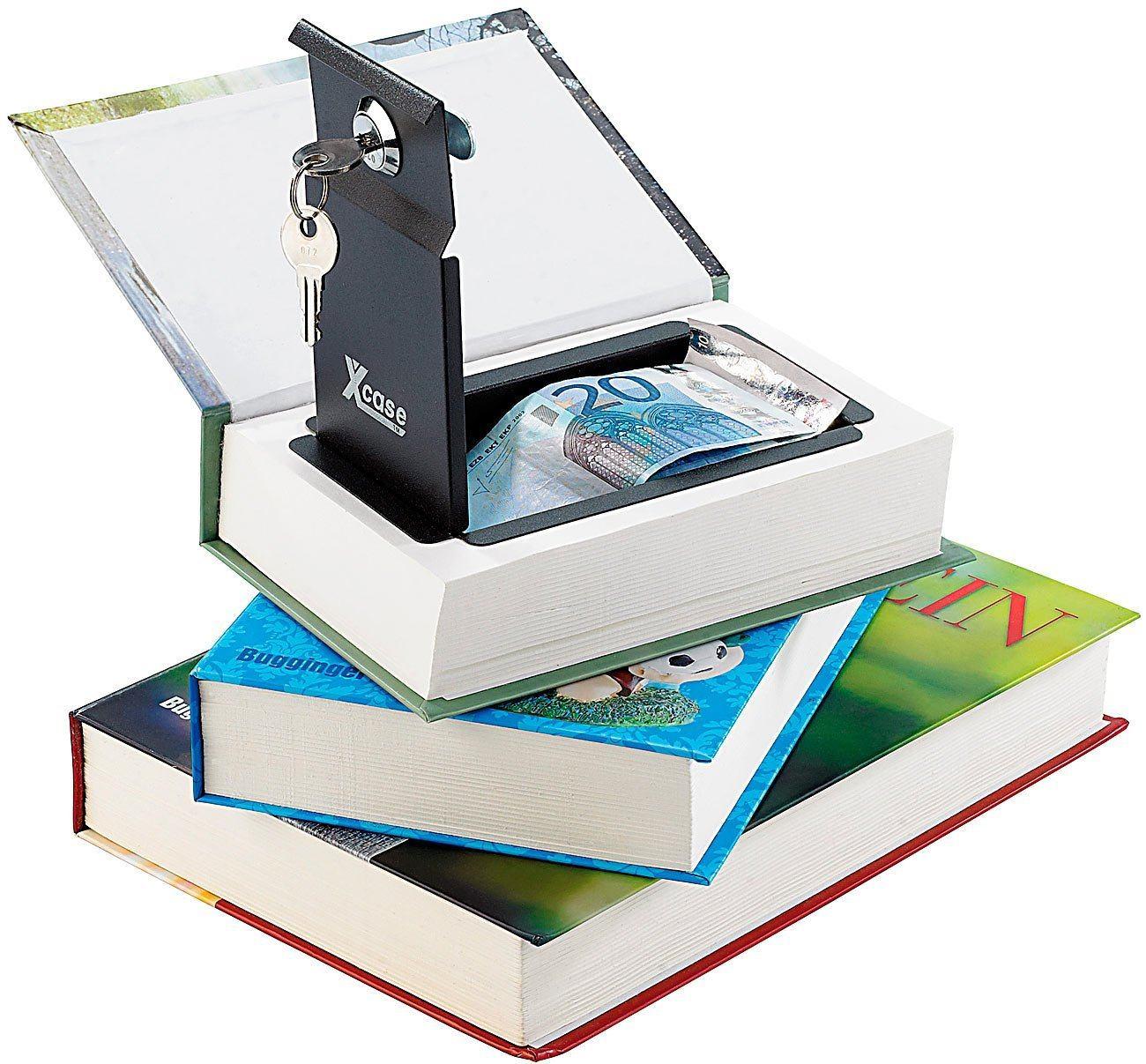 Tresor-Mini-Buch-Versteck