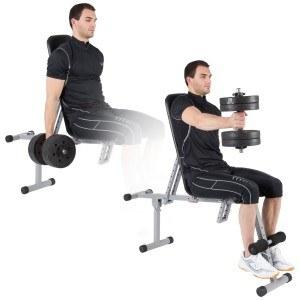 Für das Training mit der Kurzhantel lassen Sie sich von einem Fitnesstrainer einen Trainingsplan erstellen.