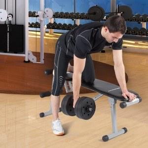 Für das Training mit Kurzhantel gibt es nützliches Zubehör.