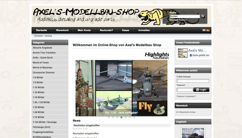 Axel's Modellbau Shop