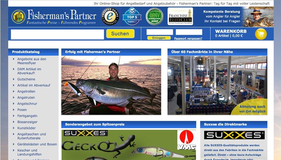 Fisherman's Partner Onlineshop Angelzubehör
