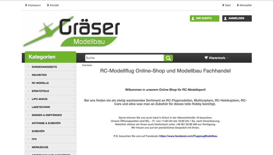 Gräser Modellbau