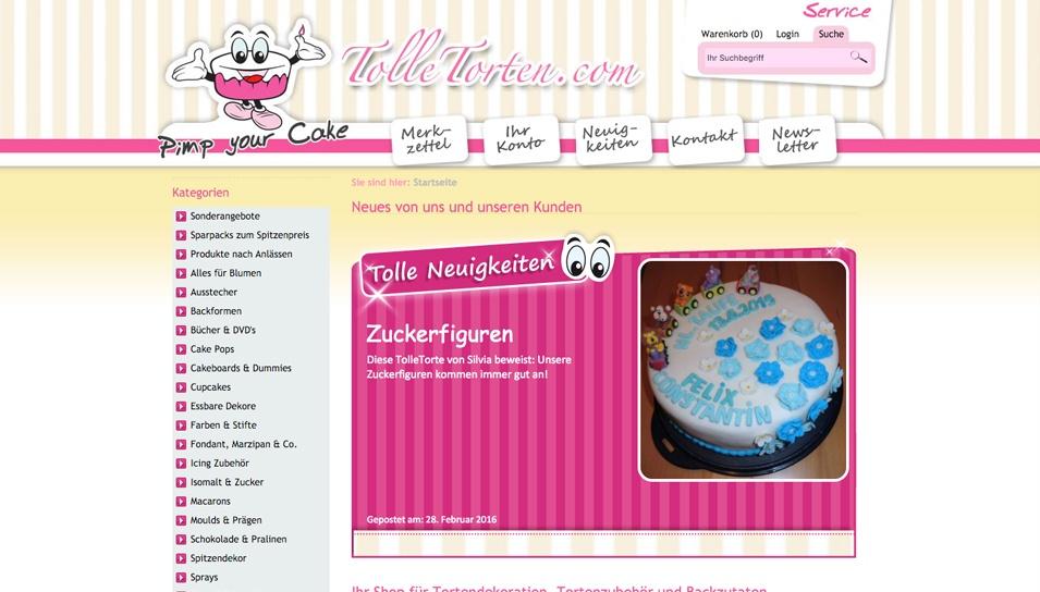 Tolle Torten Online Store